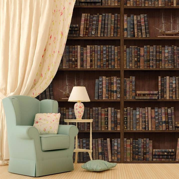 Wall Decals That Will Turn Any Room Into The Library Of Your Dreams
