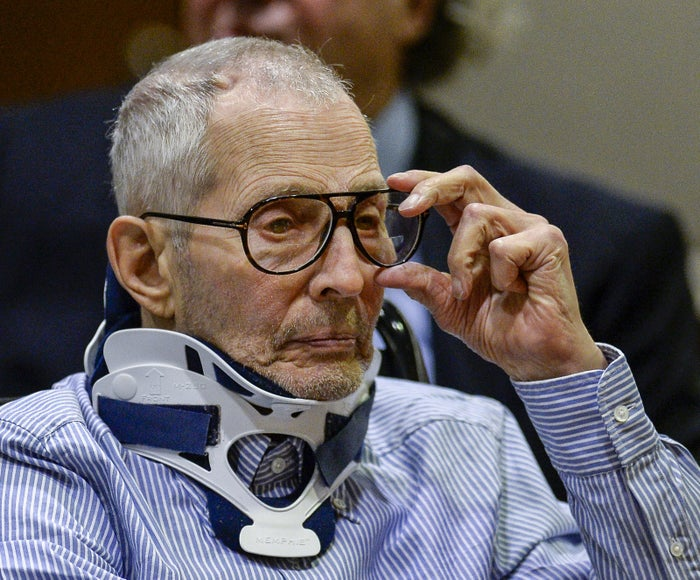 Robert Durst appears in Los Angeles County Superior Court on Nov. 7, 2016.