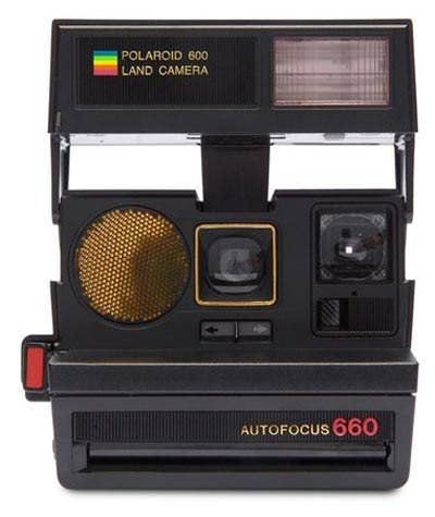 7b6159a7c A beautiful Polaroid instant camera that any photo fiend will love.