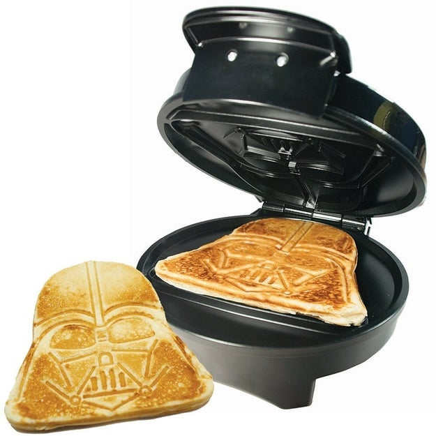 This pancake maker that'll take them to the dark side.