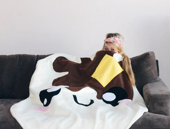This blanket so they can cuddle up in their favorite food.
