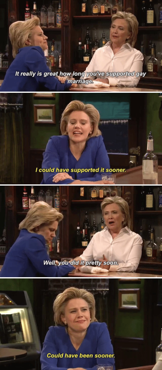 When actual Hillary Clinton made her cameo.