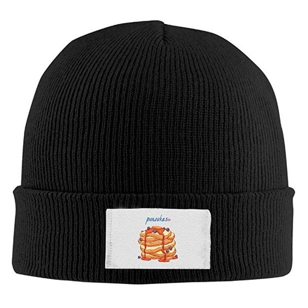 This beanie that'll provide them the same warmth as a short stack.