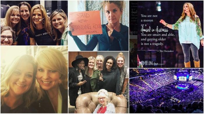 From the Instagrams of Nichole Nordeman, Glennon Doyle Melton, Jen Hatmaker, and Belong Tour