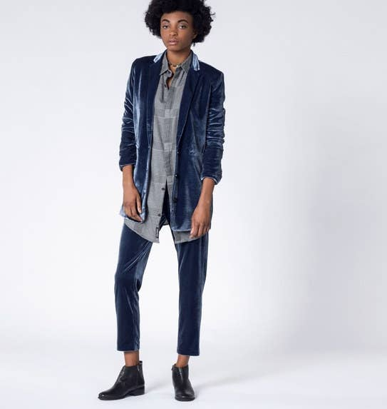 Get the blazer for $148 and the pants for $98 at Wildfang.