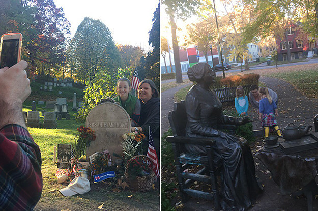 how to find susan b anthony grave