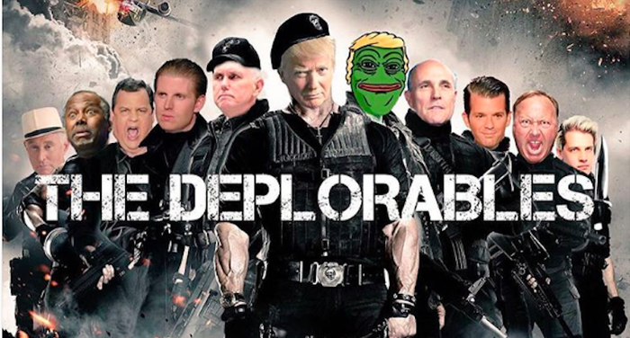Pepe the Frog was officially called a hate symbol by the Anti-Defamation League, since the cartoon came to be associated with the alt-right. But the Trump campaign had embraced the frog. Trump retweeted images of himself resembling the frog, and one of his sons posted an Instagram photo featuring Pepe.