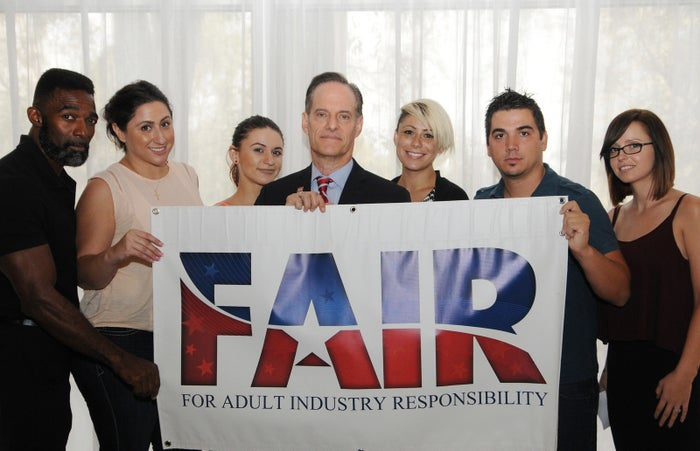 FAIR (For Adult Industry Responsibility) backed California's condom initiative.