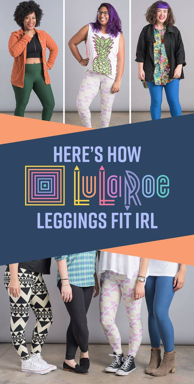 87cb80fc04d2e 15 Women Tried LuLaRoe's Leggings So You Don't Have To