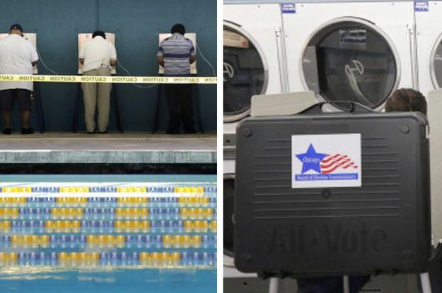 13 der schrägsten Wahllokale in den USA