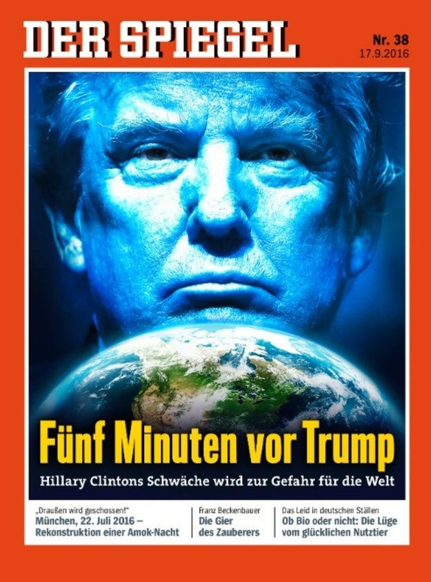 14 of the most wtf headlines about trump from germany for Stern oder spiegel
