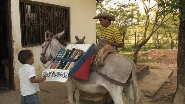 For the past 10 years, Luis Soriano has run the Biblioburro program, a traveling library — literally on the back of a burro — that brings books to kids in remote villages on Colombia's Caribbean coast.