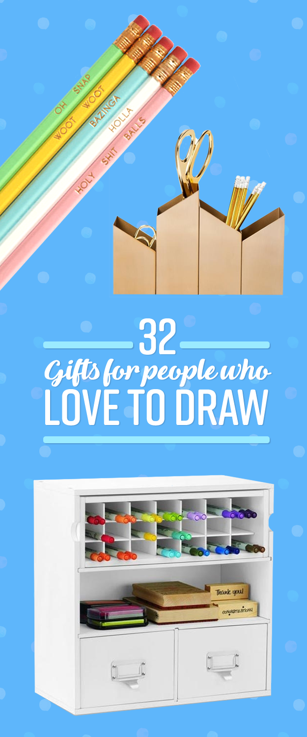 32 Amazing Gifts For People Who Love Drawing