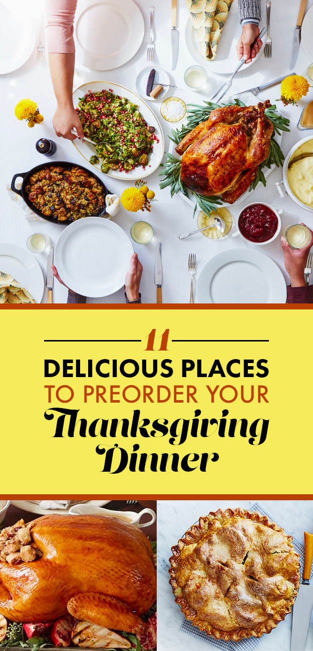 11 Delicious Places That Will Basically Make Thanksgiving Dinner For You