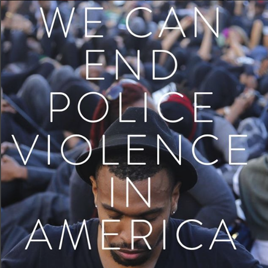 If you're worried about police violence, you can get involved with Campaign Zero.