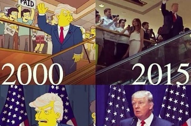 people think the simpsons predicted trump s win but it s not true