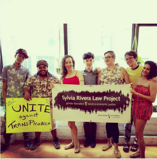 If you're worried about transphobia and trans rights, you can support the Sylvia Rivera Law Project (SRLP).