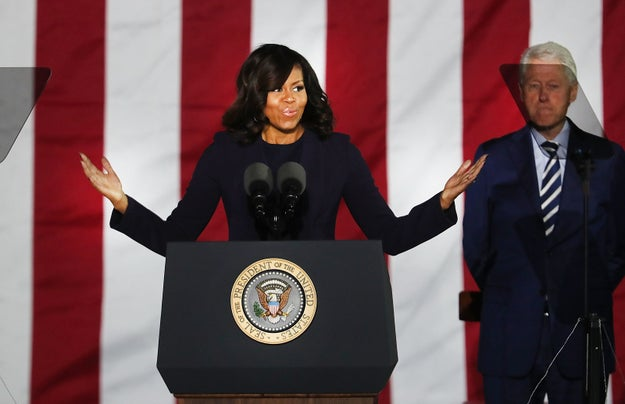 People are really freaking keen for Michelle Obama to run for president in 2020.