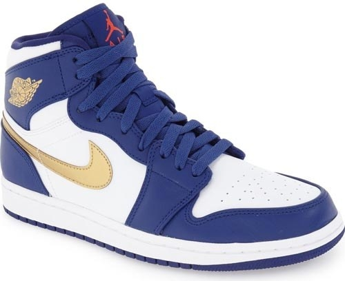 a pair of air jordan 1 retro sneakers.