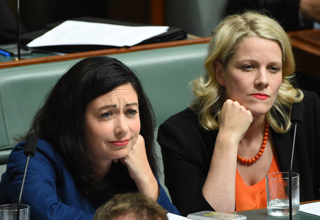 """Terri Butler and Clare O""""Neil have zero time for mansplaining."""