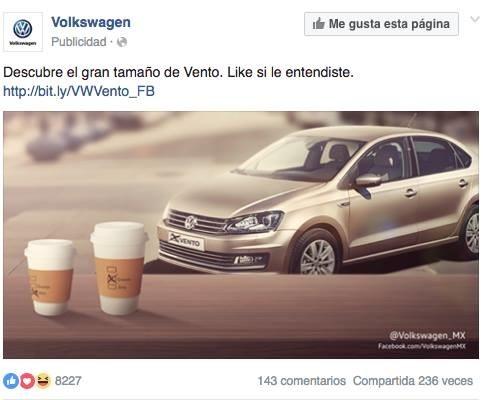 El tío que le quitó la cuenta de VW a su sobrino para hacer su chistísimo.
