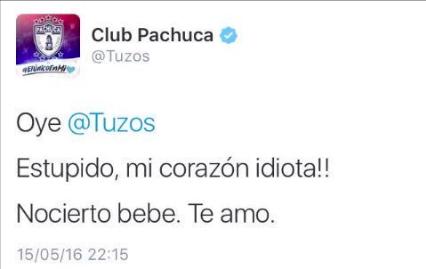 Cuando el Pachuca se autotroleó.