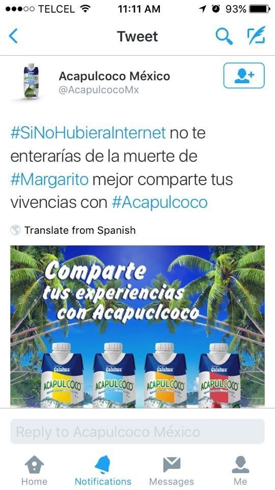 """El CM de Acapulcoco que redifinió para siempre el significado de la palabra """"oportunismo""""."""