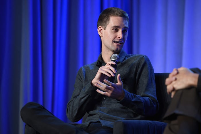 Evan Spiegel, Snapchat CEO and co-founder.