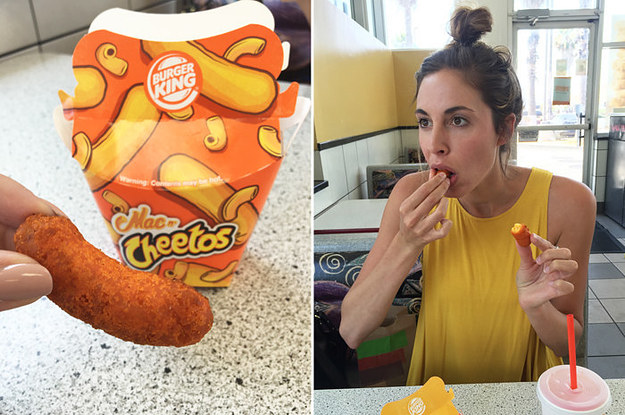 We Tried The New Mac N Cheetos From Burger King So You Dont Have To