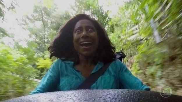 E a Gloria Maria nos deu de presente sua viagem muito louca pela Jamaica.