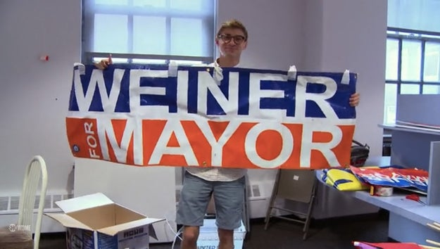 Weiner gets back in the New York groove