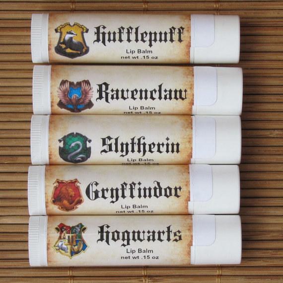 Butterbeer lip balms that smell like Saturday mornings at Hogsmeade.