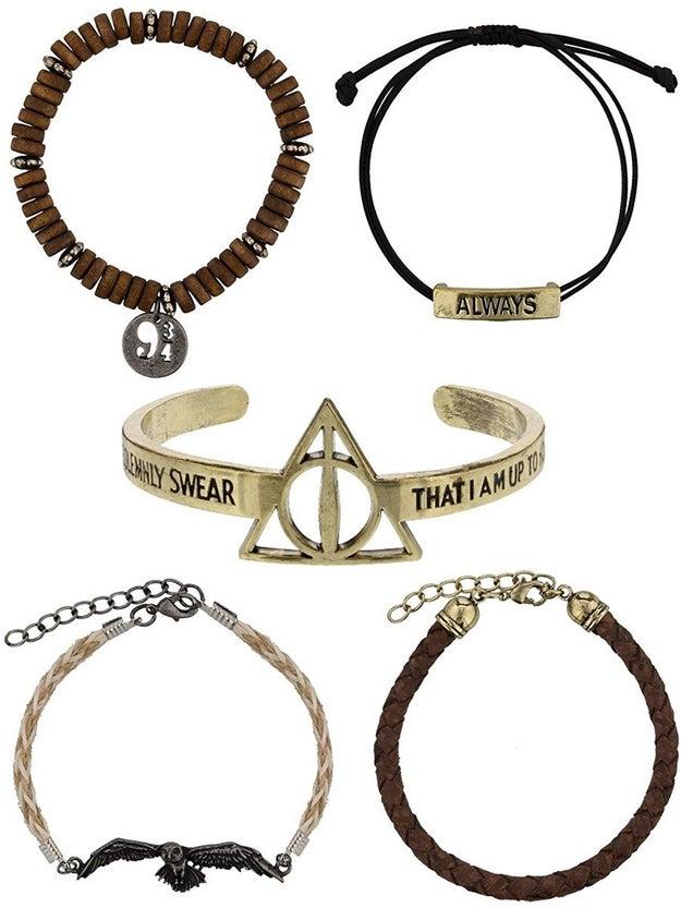 A bracelet set that I ~solemnly swear~ you will ~always~ want to wear.