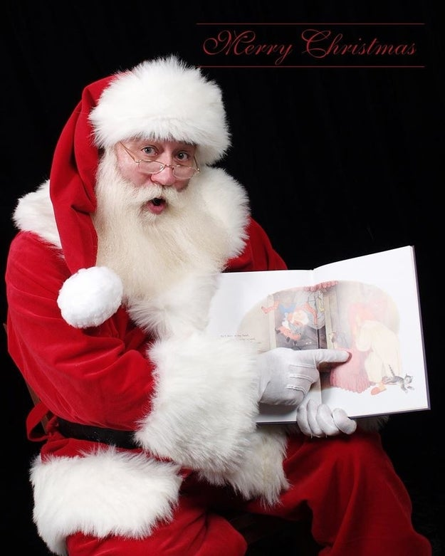 Schmitt-Matzen told the columnist the experience has made him want to retire as Santa, but he has decided to do one more show.
