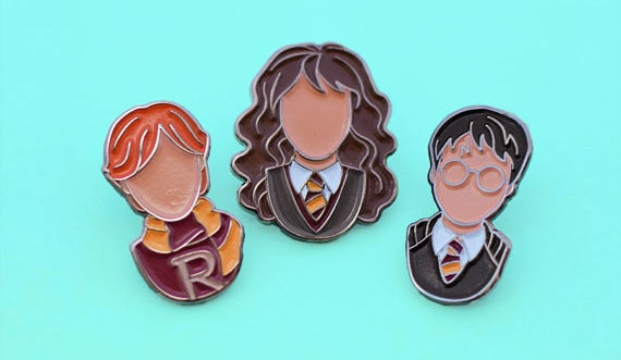 Enamel pins of your favorite loyal, intelligent, and brave best friends.