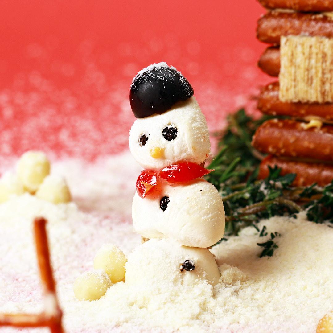 Build A Savory Gingerbread House With A Cheese Hot Glue Gun