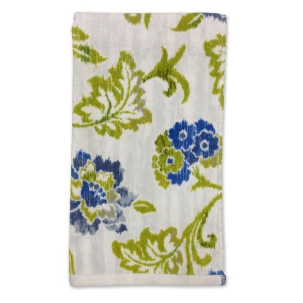 Swap out your old hand towels for this ikat-floral towel for a steal.