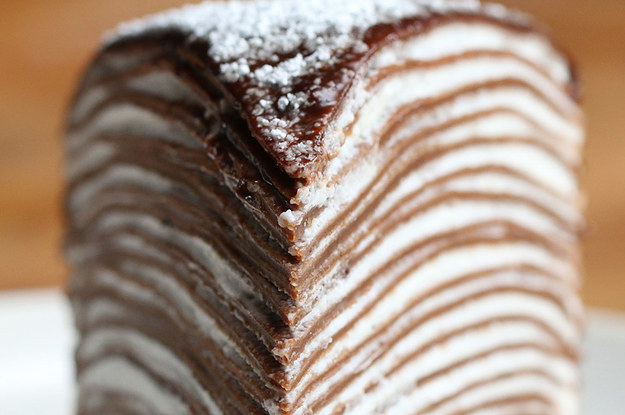 Mille Crepe Cake Recipe Tasty