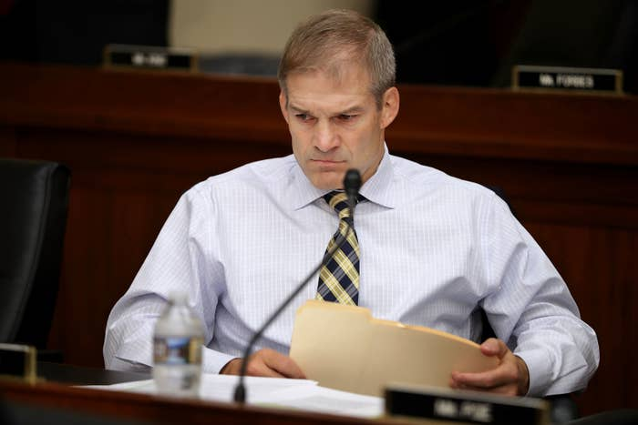 Rep. Jim Jordan, the former chairman of the House Freedom Caucus.