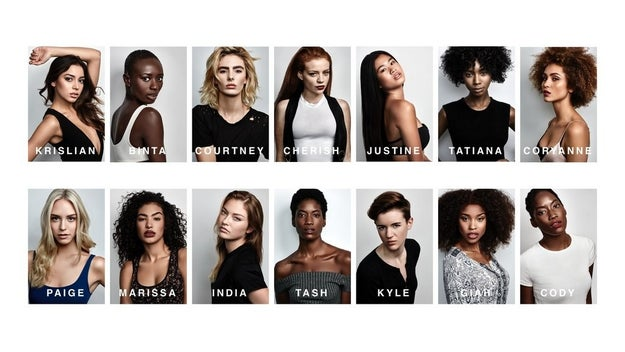 People were perplexed when none of the 14 finalists chosen to compete on America's Next Top Model were plus-size.