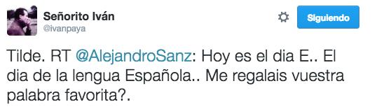 Este chico al que Alejandro Sanz se lo puso en bandeja.