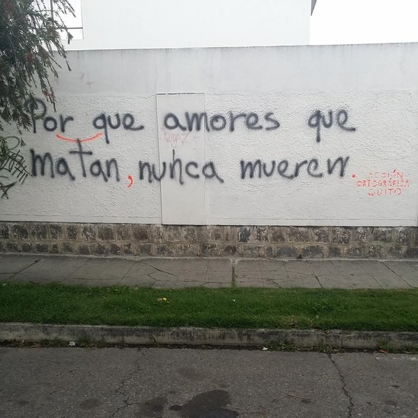 Estos grafiteros que podrían ser tu profesor de Lengua del cole.