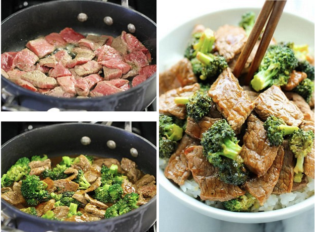15-Minute Beef with Broccoli