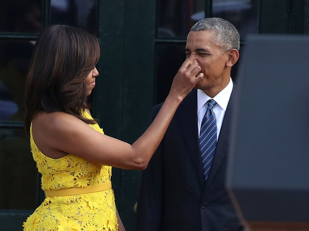Not even nose-scratching was off limits (now that's real love).