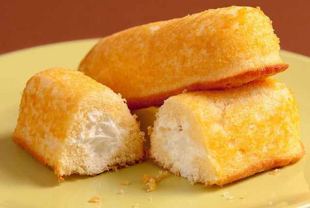 Twinkies were originally banana-flavored, but bananas started being rationed after WWII broke out. As a result, the recipe was changed to the creme filling we know today.