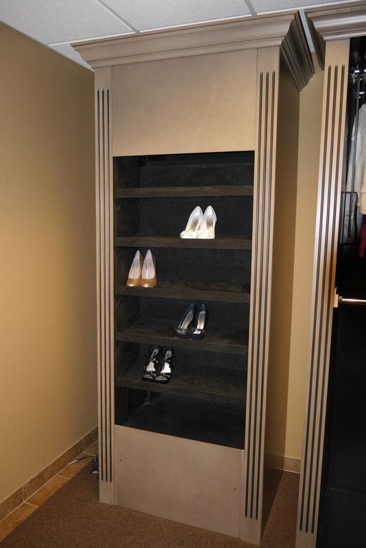 Or Upgrade Your Shoe Storage Game With A Rotating Shoe Rack.