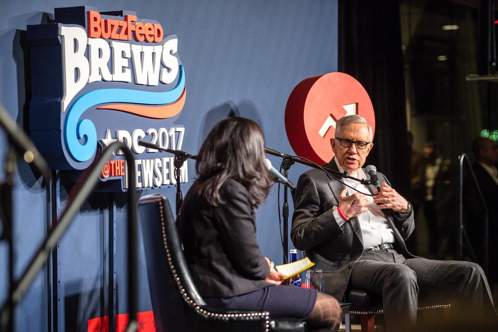 Harry Reid in interview with Buzzfeed.