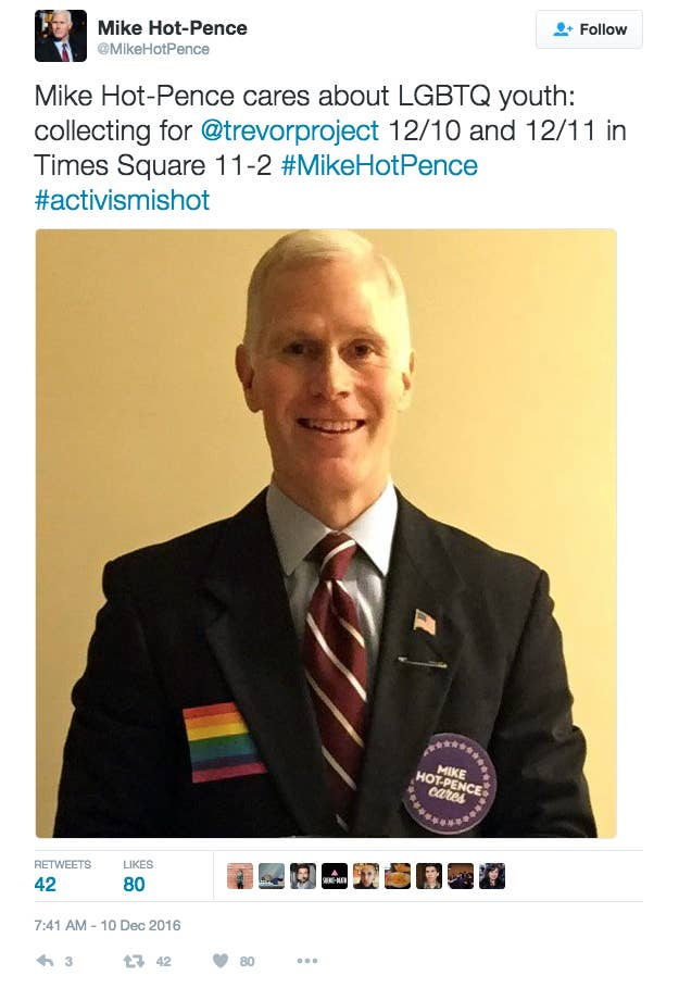 He posts updates on his progress each day on his Twitter account, @MikeHotPence.