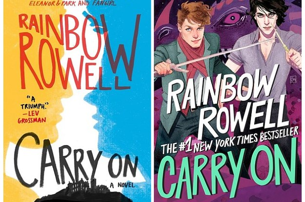 Image result for rainbow rowell carry on
