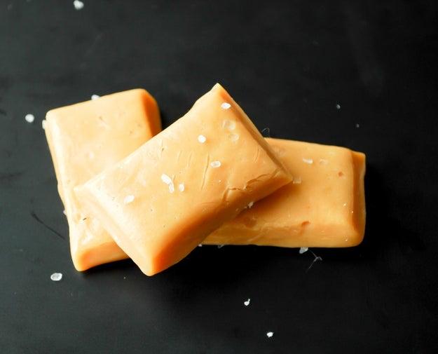 Brown Butter Caramels